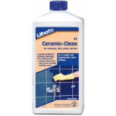 Lithofin KF Ceramic Clean 1L Limescale/Rust Remover for tiles,steel,grout,chrome